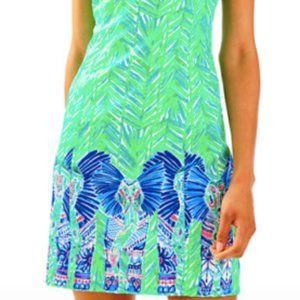 Lilly Pulitzer NWT green shift dress Size 8